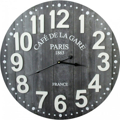 Clock Cafe de la Gare