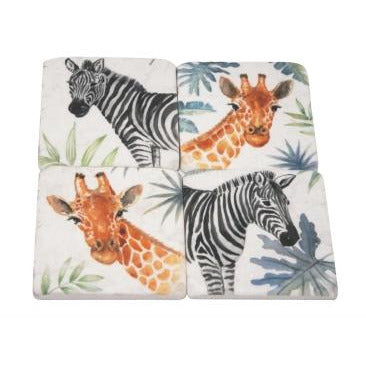 Safari Coasters - Design 2
