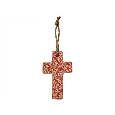 Coral Baroque Cross