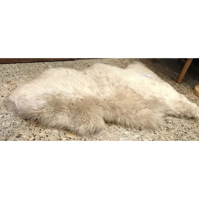 Premium NZ Sheepskin Rug - Dark Linen