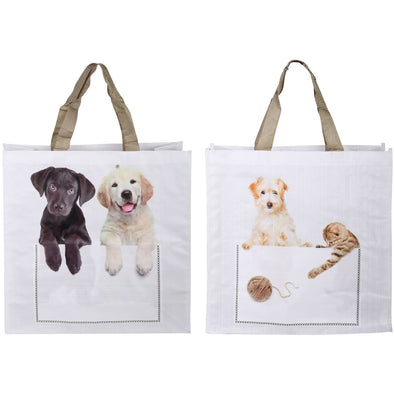 Re-Usable Shopping Bags - Dog/Cat Assorted
