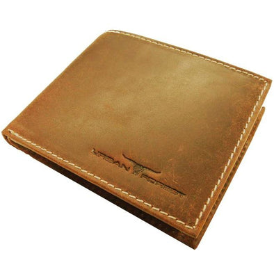 Amos Leather Wallet - Cognac