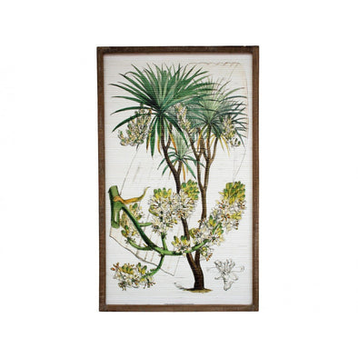 Framed Bamboo Wall Art 1