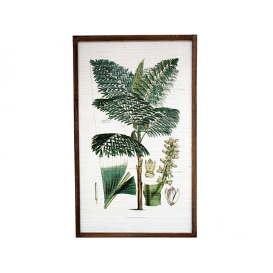Framed Bamboo Wall Art 3