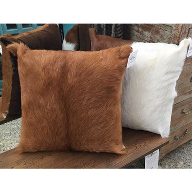 Goat Skin Cushion