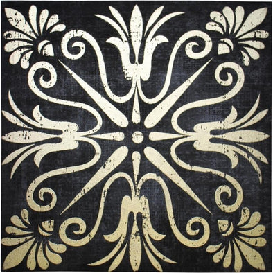 Gold Foil Canvas Motif 3