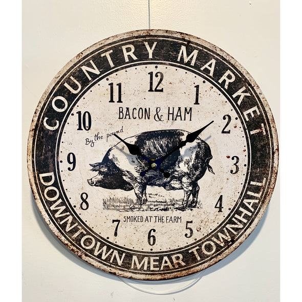 Country Market Clock