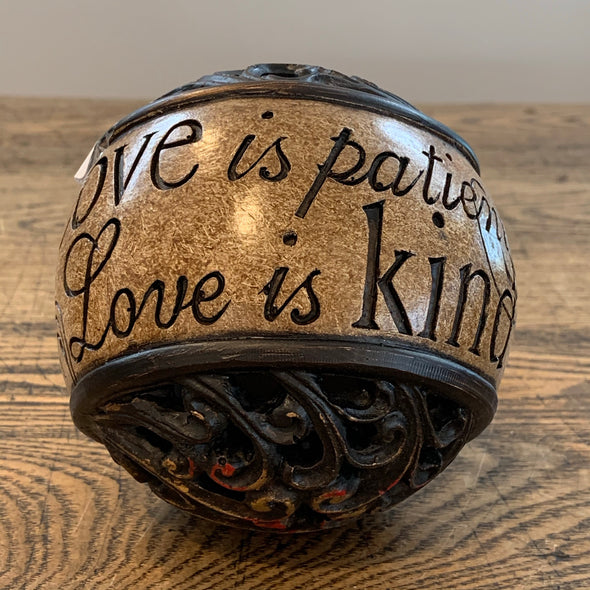 Decorative Ball - Love Is Kind
