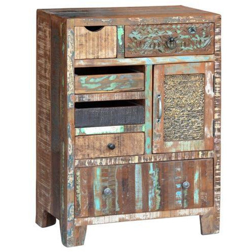 Reclaimed Wood Eclectic Drawers