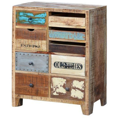 Wooden Eclectic Drawers Medium