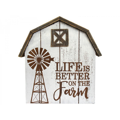 Life is Better On The Farm Wooden Sign