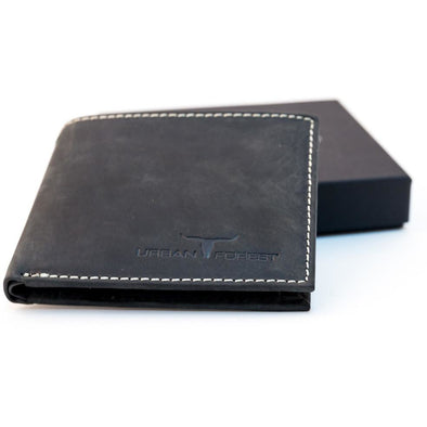 Logan Genuine Leather Wallet Black