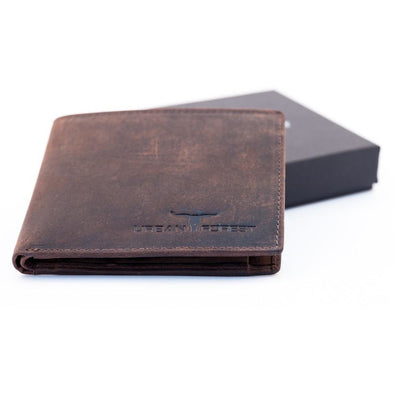 Logan Genuine Leather Wallet Brown