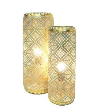 Mallory Moroccan Style Table Lamp- 2 Sizes