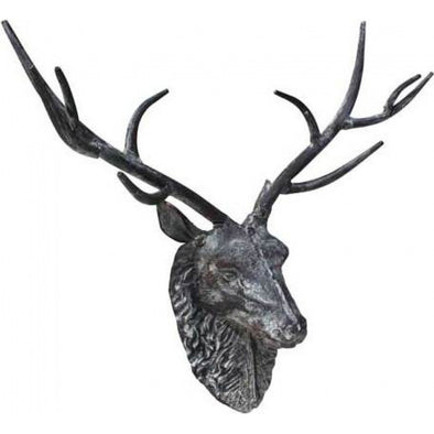 Antler Deer Iron Wall Decor