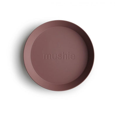 Mushie Round Dinner Plate Set Of 2