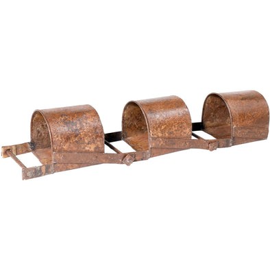 Original Water Wheel Scoop Trio Planter.