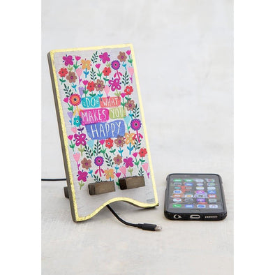 Natural Life Phone Stand Do What Makes You Happy