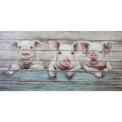 Three Little Piggies Wall Art