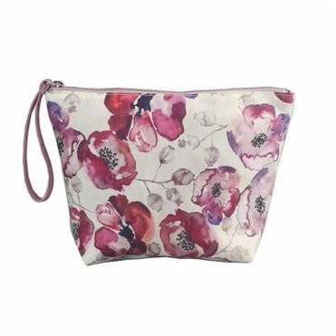 Poppy Pink Toiletry Bag Small