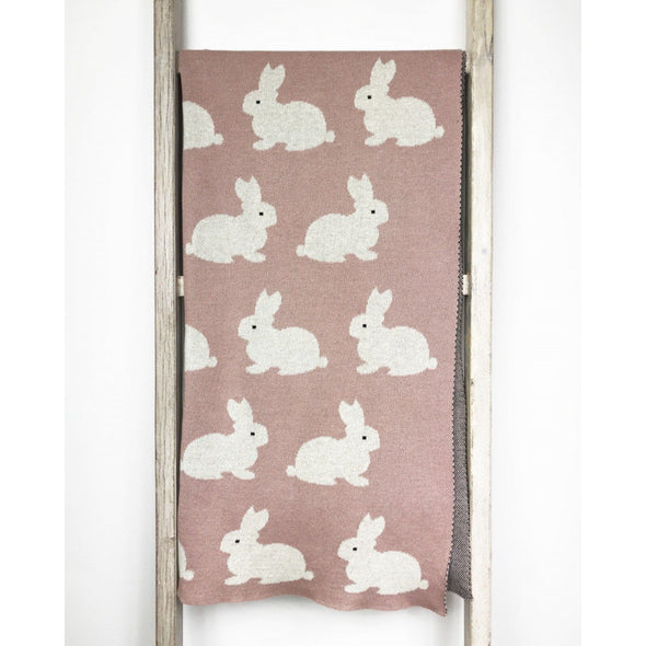 Baby Blanket Bunny - Pink