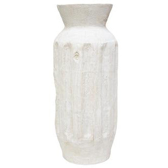 Rashna Vase White Wash