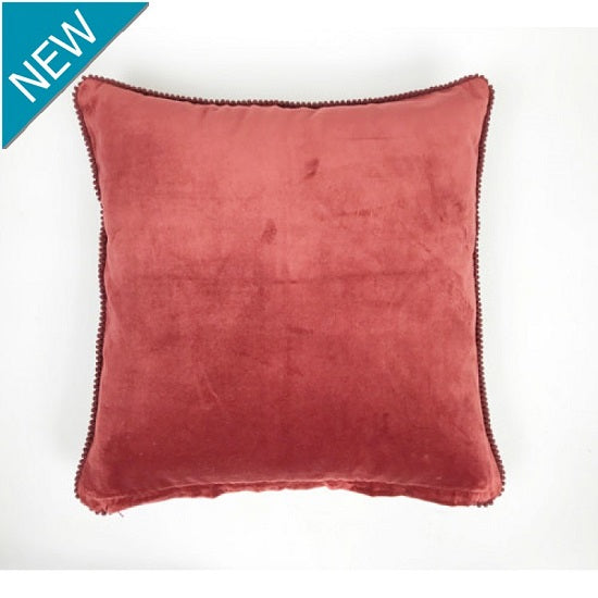 Velvet Cushion -Baked Apple
