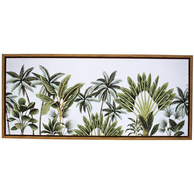 Framed Canvas Riverina Palms