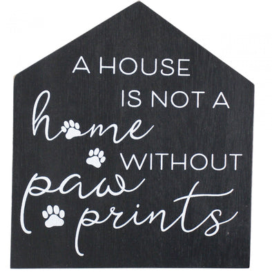 Sign House Paw Prints