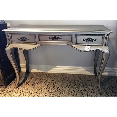 French Style Silver Hall Table