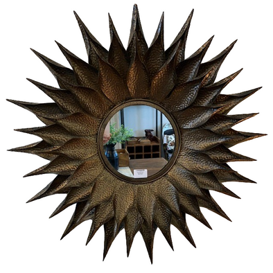 Sunburst Mirror Dark Bronze