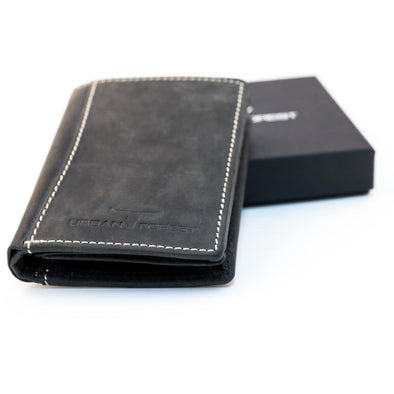 Sundance Leather Unisex Wallet- Black