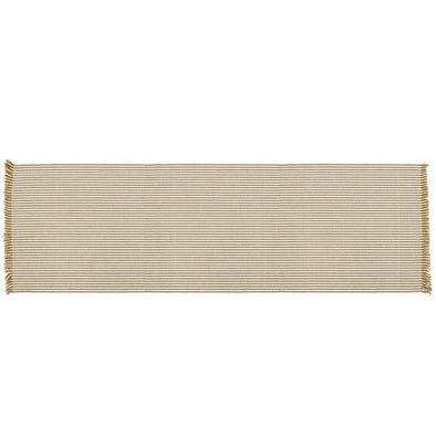 Abby Stripe Table Runner - Mustard