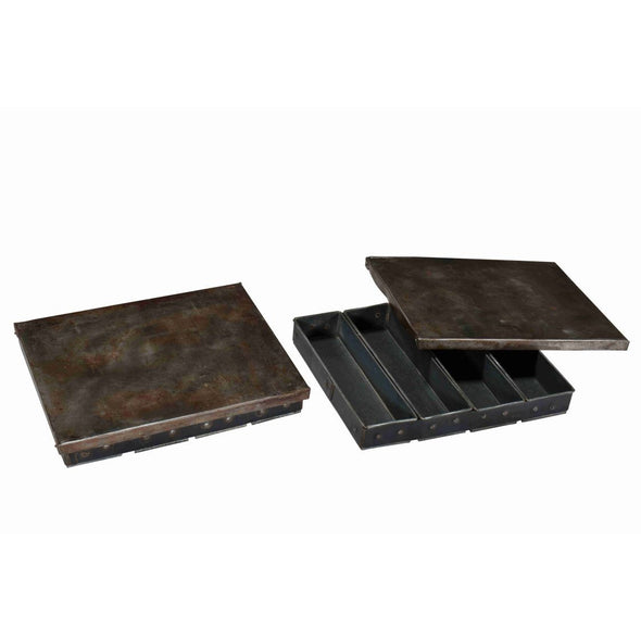 Iron Tray With Lid