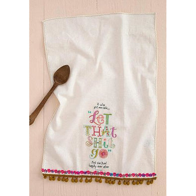 Linen Hand Towel Wise Girl