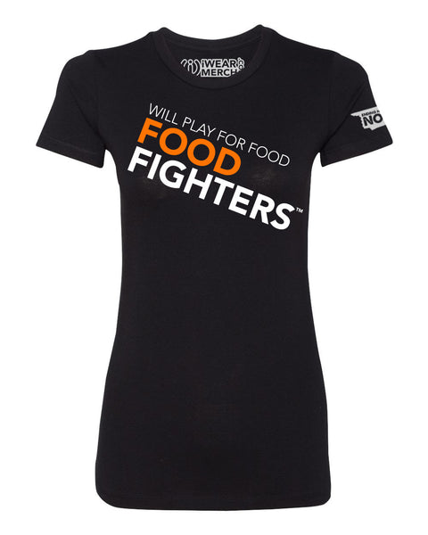 Food Fighter Angle Womens Tee