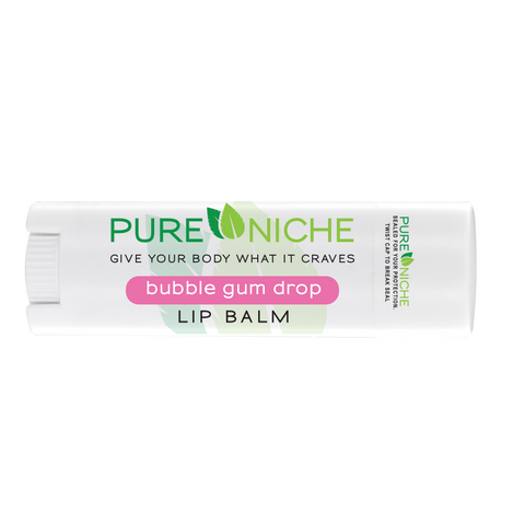 bubble gum drop lip balm | Pure Niche