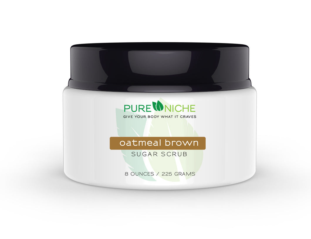 oatmeal brown sugar scrub | Pure Niche