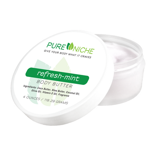 refresh-mint body butter | Pure Niche
