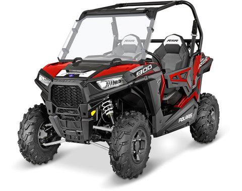 Lock & Ride® Full Poly Windshield by Polaris®