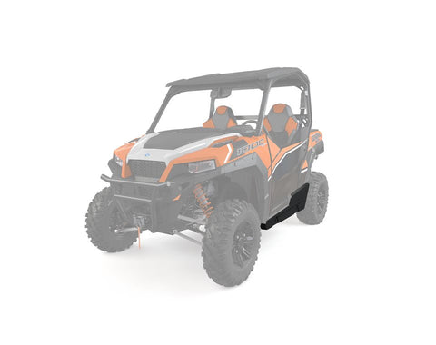 Polaris General Low Profile Steel Rock Sliders