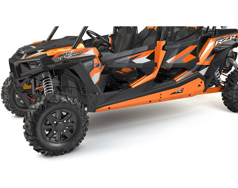 4-Seat Low Profile Rock Sliders- Spectra Orange by Polaris® Item # 2881593-446