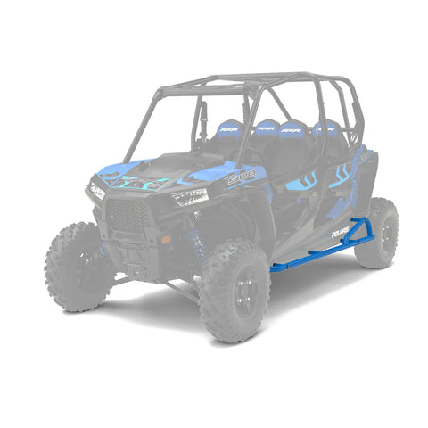 Polaris | 4 Passenger Kick-out Rock Sliders | Velocity Blue 2882079-689