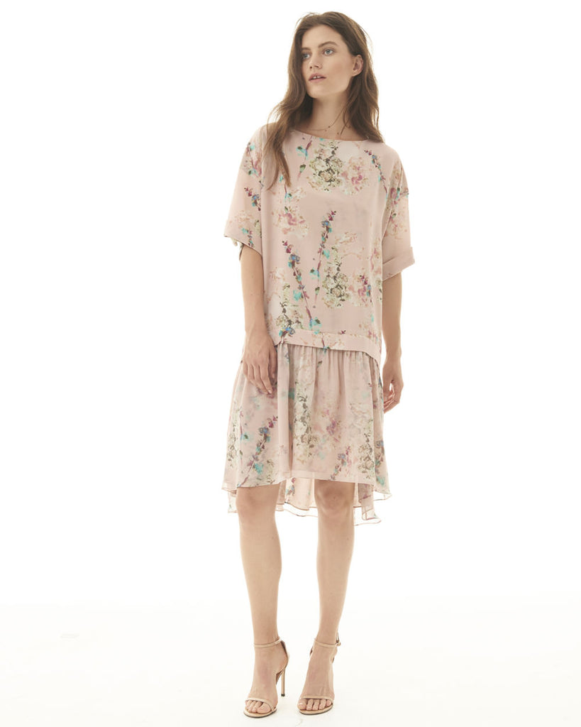 T-Shirt Dress - Dusty Rose