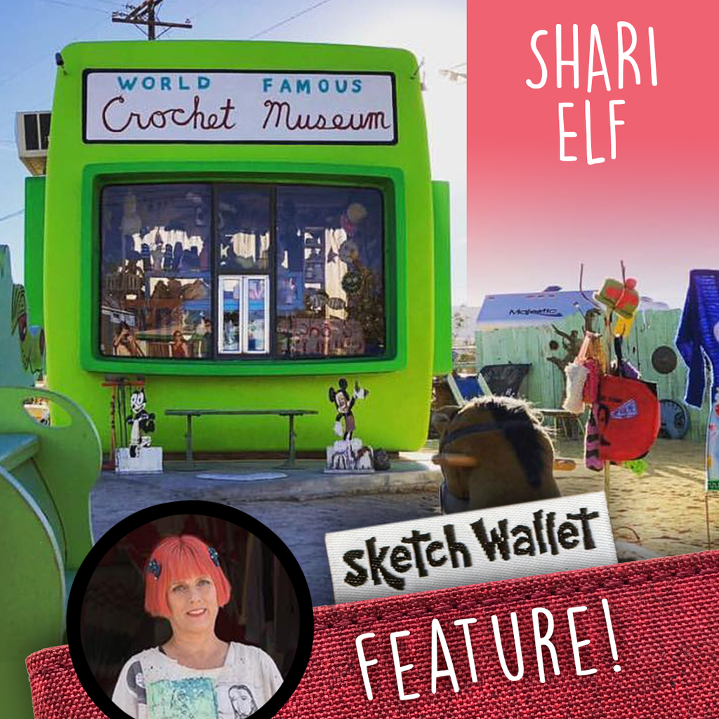 Featured Artist: Shari Elf!