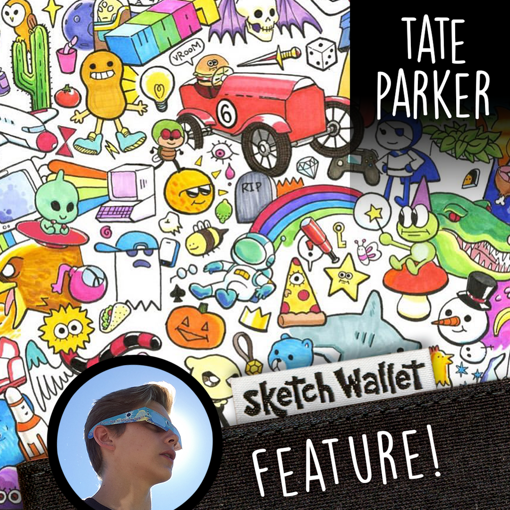 Featured Artist: Tate Parker!