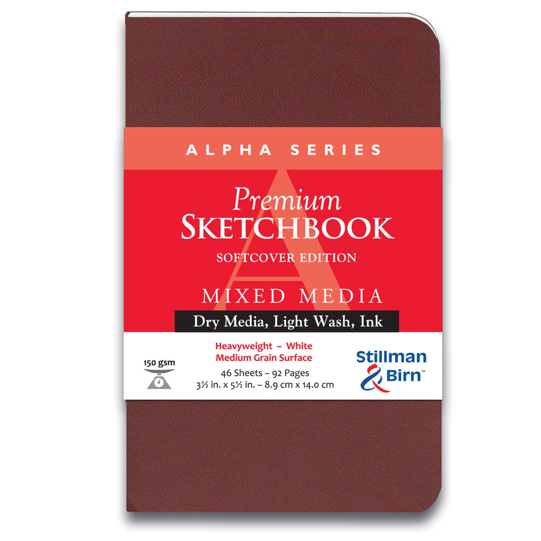 Alpha Premium Sketchbook by Stillman & Birn