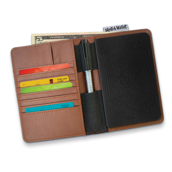 Original Size Leather Sketch Wallet 2.0