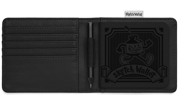 Medium Leather Sketch Wallet
