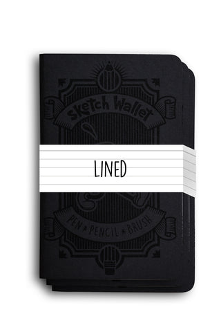 Original 3 Book Refill Pack Lined Paper
